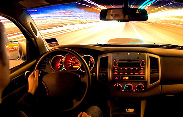 Лишение водительских прав за превышение скорости