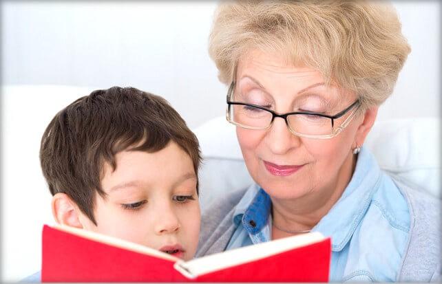 Как передать ребенка бабушке